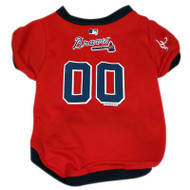 Atlanta Braves Dog Jersey #2