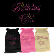 Birthday Girl Rhinestone Sweater (Various Colors)
