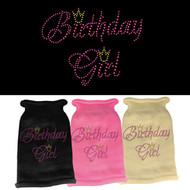 Birthday Girl Rhinestone Sweater (Various Colors)