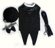 Dog Tuxedo- Black