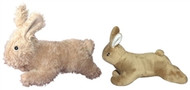 Mighty Dog Toy - Bunny McHop - Brown