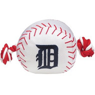 Detroit Tigers Nylon Baseball Rope Dog Toy