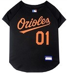 Baltimore Orioles Baseball Dog Jersey
