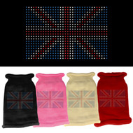 British Flag Dog Sweater (Various Colors)