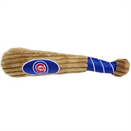 Chicago Cubs Plush Dog Bat