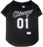 Chicago White Sox Baseball Dog Jersey
