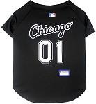 Chicago White Sox Baseball Dog Jersey