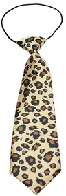 Leopard Dog Neck Tie