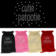 Cutie Patootie Rhinestone Sweater (Various Colors)