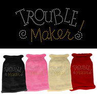 Trouble Maker Rhinestone Sweater (Various colors)