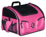 3-In-1 Bike Basket for Dogs- Pink