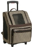 RIO Noir Dots Rolling Pet Carrier