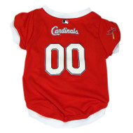 St. Louis Cardinals Dog Jersey