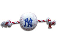Yankees Rope Plush Dog Toy