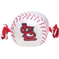 St. Louis Cardinals Rope Plush Dog Toy