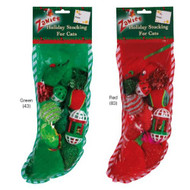 Cat Holiday Stocking Gift Set