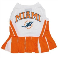 Miami Dolphins Cheerleader Dog Dress
