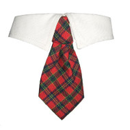X'Mas Shirt Collar Dog Tie
