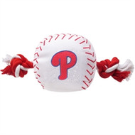 Phillies Rope Plush Dog Toy
