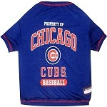 Chicago Cubs Baseball Dog Shirt