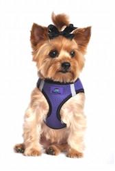 Ultra Purple Top Stitch American River Choke Free Dog Harness