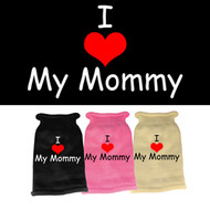 I Heart Mommy Knit Sweater (Various Colors)