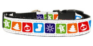 Classic Christmas Dog Collar
