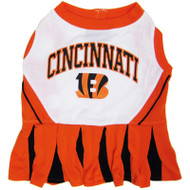 Cincinati Bengals Cheerleader Dog Dress