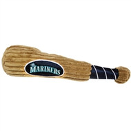 Seattle Mariners Plush Dog Bat Toy
