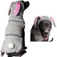Bunny Hoodie Dog Sweater
