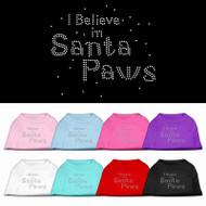 I Believe in Santa Paws Dog Shirt
