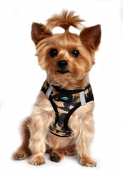 Brown Camo American River Choke Free Dog Harness