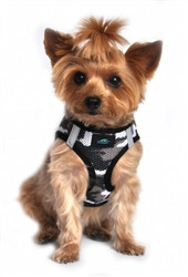 Gray Camo American River Choke Free Dog Harness