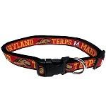 Maryland Terrapins Dog Collar