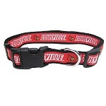 Louisville Cardinals Dog Collar