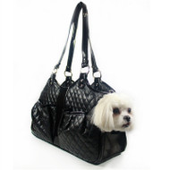Quilted Luxe Metro Dog Carrier
