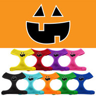 Pumpkin Face Soft Mesh Harness for Dogs