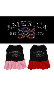 Classic America Dog Dress
