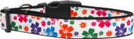 Hawaiian Hibiscus Nylon Ribbon Dog Collar