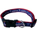 Texas Rangers Dog Collar