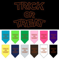 Trick or Treat Dog Bandana
