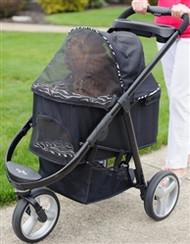 Imperial Zebra Dog Stroller