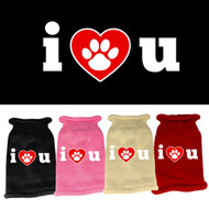 I Heart U! Knit Sweater (Various Colors)