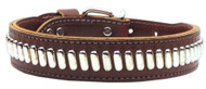 Comet Dog Collar- Brown