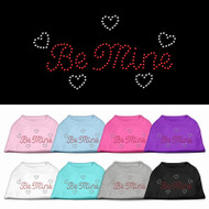 Be Mine Rhinestone Dog Shirt
