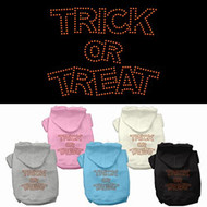 Trick or Treat Dog Hoodie
