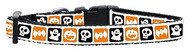 Halloween Nylon Ribbon Dog Collar
