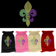 Mardi Gras Fleur De Lis Sweater (Various Colors)