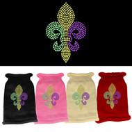 Mardi Gras Fleur De Lis Sweater (Various Colors)