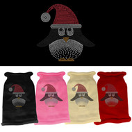 Santa Penguin Rhinestone Sweater (Various Colors)